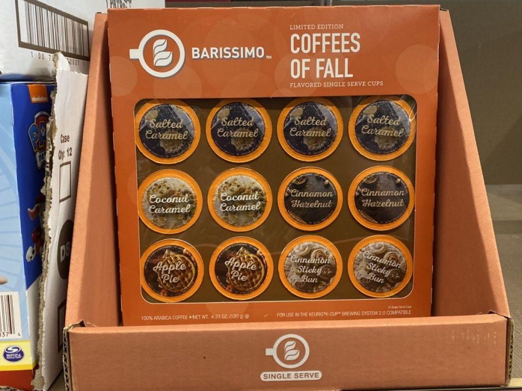 Aldi Barissimo Fall Coffees
