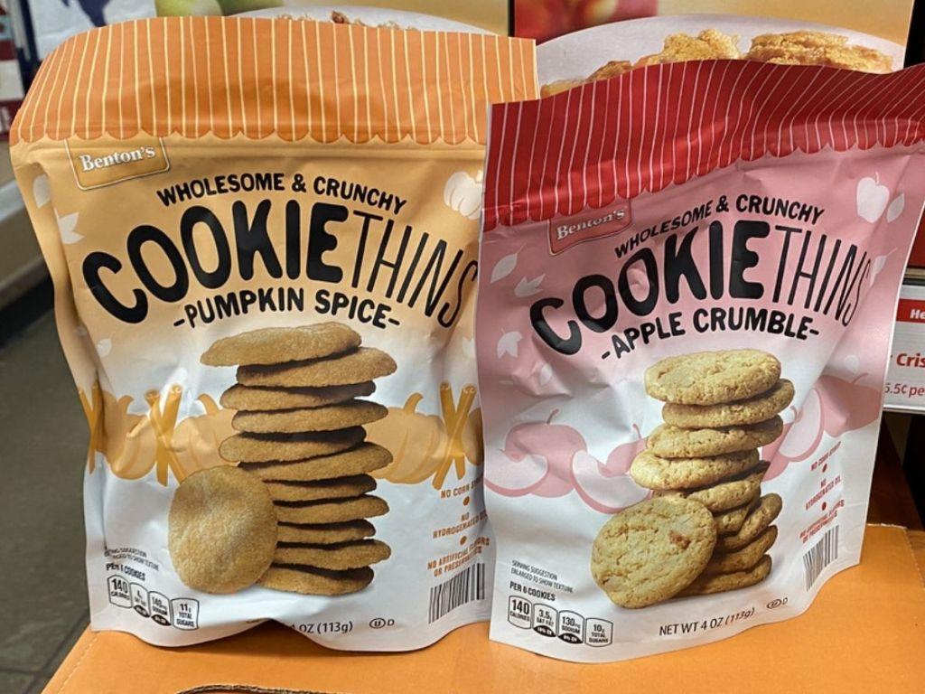 Bentons Cookie Thins