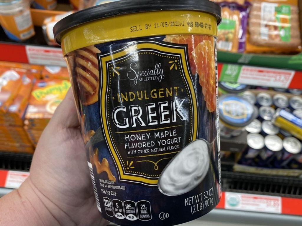 Aldi Indulgent Greek Maple Honey Yogurt