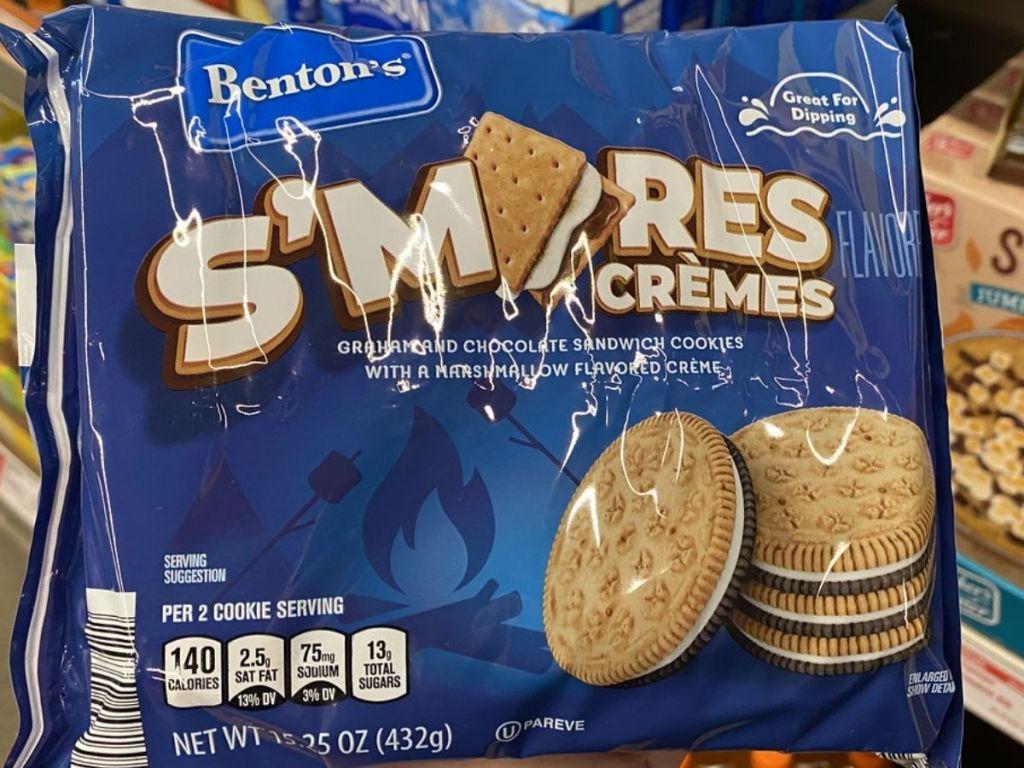 S'mores Cream Cookies