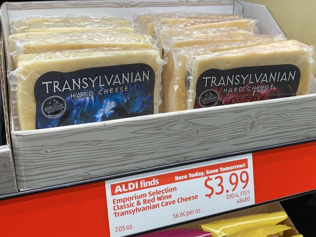 Two types of Transylvania Cheese
