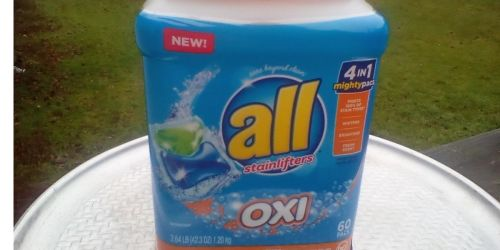 All Mighty Pacs w/ Oxi 60-Count Tub Only $8.52 Shipped on Amazon (Regularly $15)