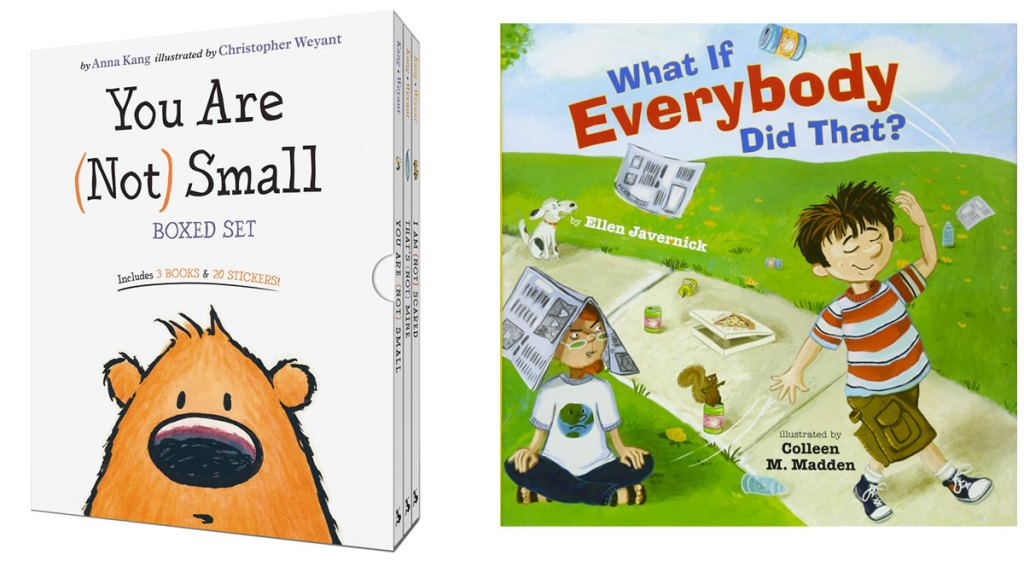 you are not small boxes set and what if everybody did that children's books