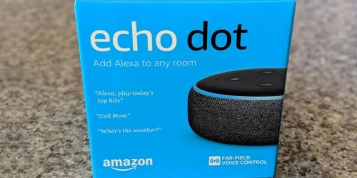 Echo Dot Smart Speaker w/ Bluetooth Light Bulb Only $18.99 on Amazon (Regularly $50)