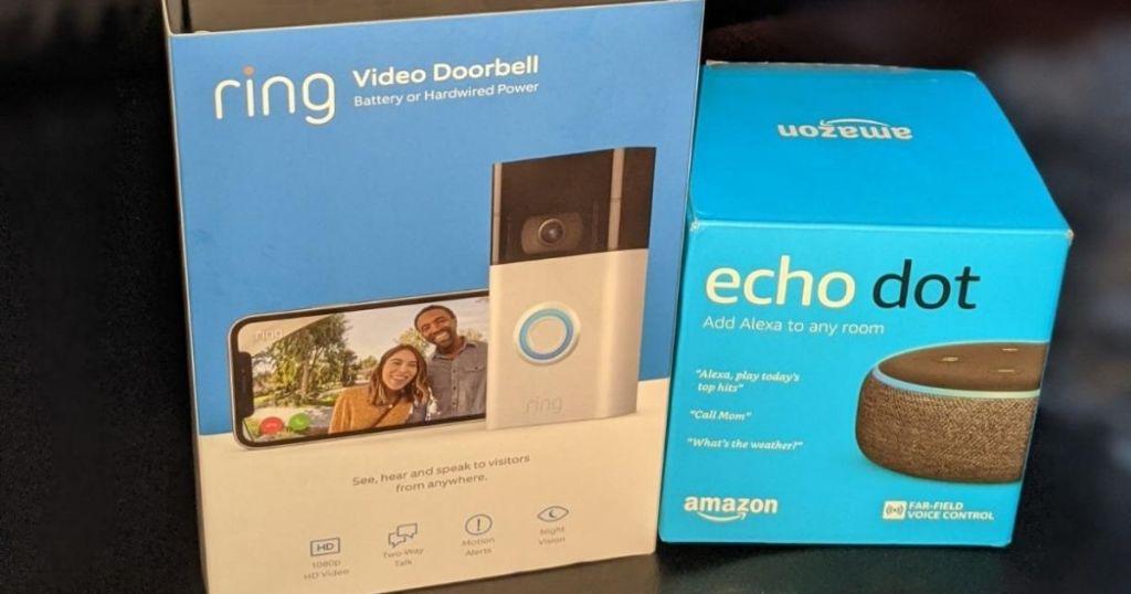 Amazon Ring + Echo Dot