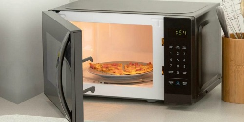 AmazonBasics Microwave & Echo Dot Only $59.99 Shipped on Amazon (Regularly $110)