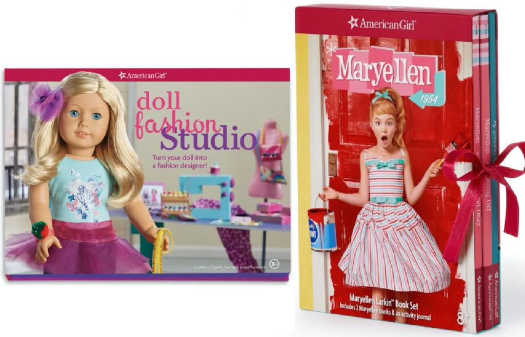 stock images of american girl books and craft kits