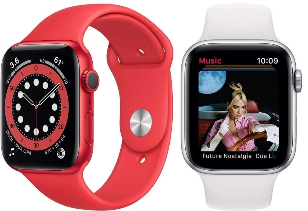 two series 6 apple watches