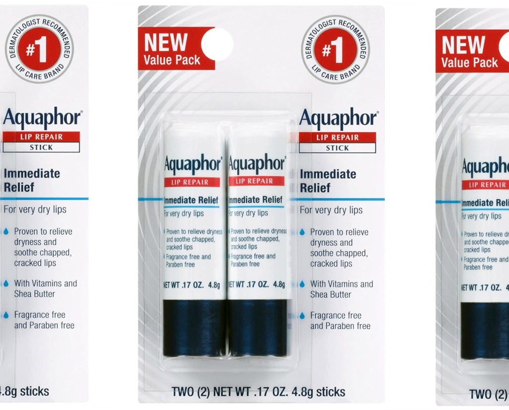 Aquaphor products in packaging