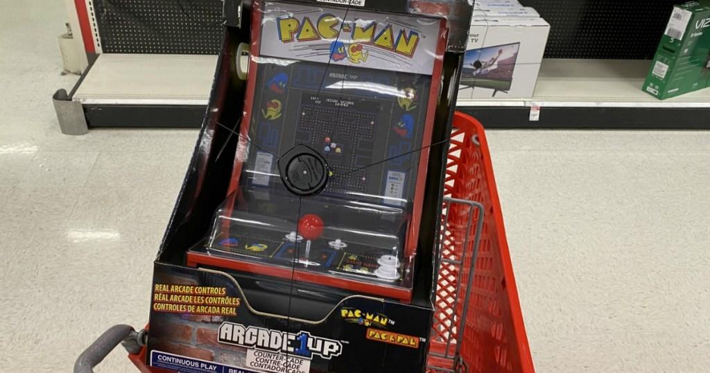 Arcade1 Pac-Man game in Target cart