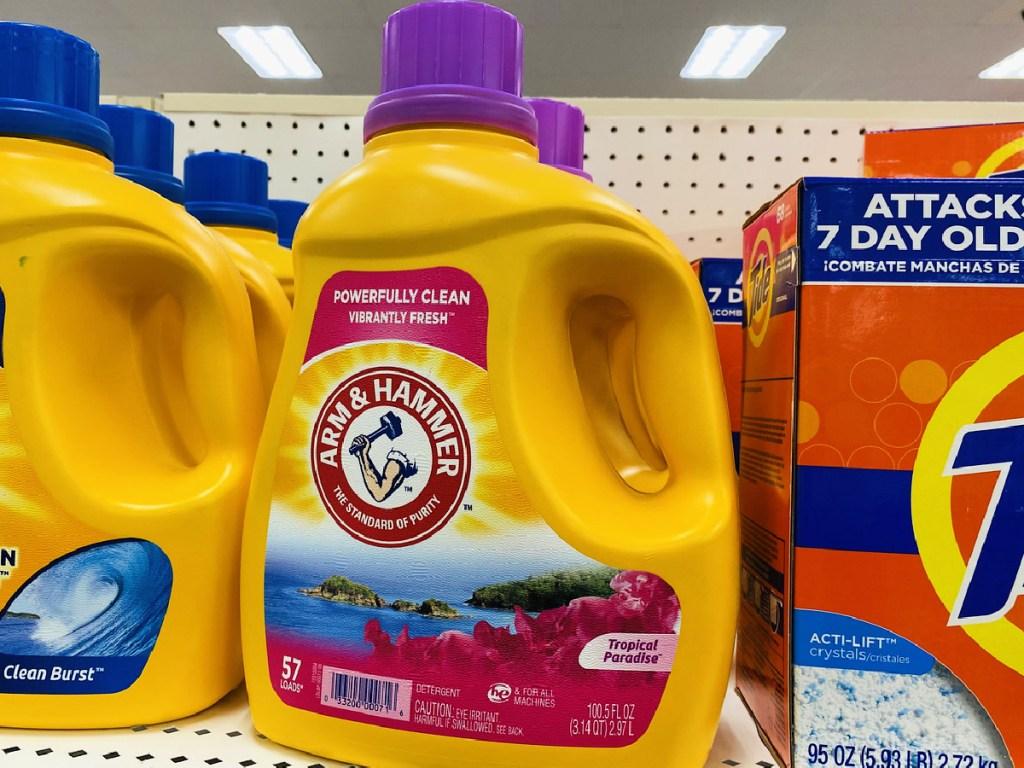 Arm & Hammer Clean Scentsations Tropical Paradise 100.5-Ounce Liquid Laundry Detergent