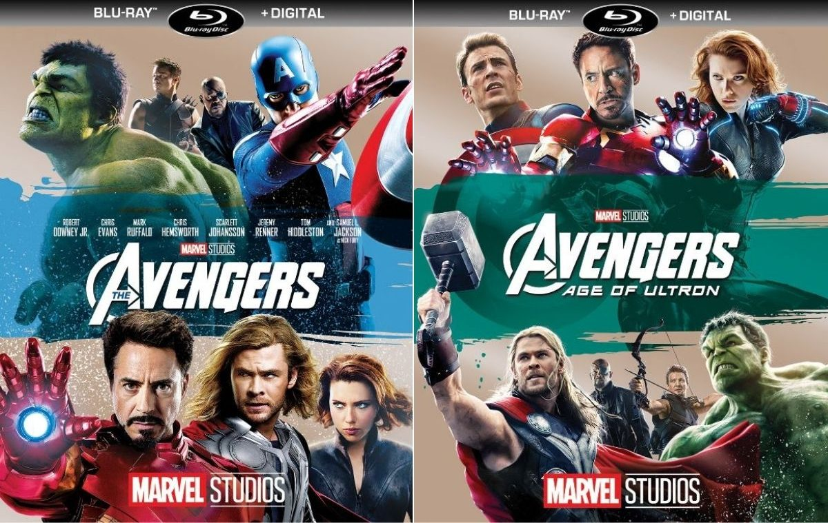 Avengers and Age of Ultron Blu-Rays