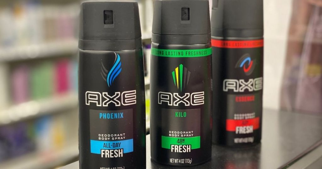 3 Axe Body Sprays