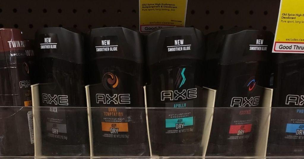 Axe Deodorants at CVS