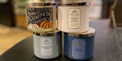Bath & Body Works 3-Wick Candles Just $14.50 (Regularly $24.50) | Includes New Winter Scents