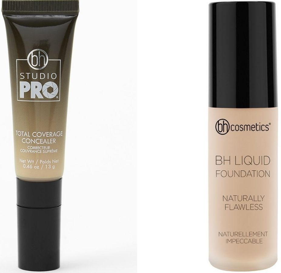 BH Concealer and Foundation