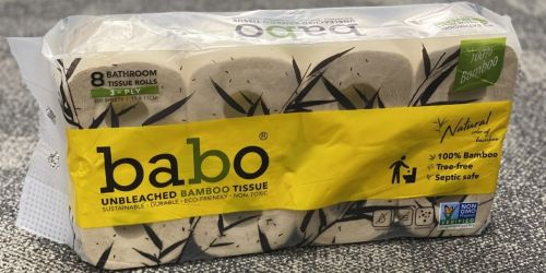 Babo Bamboo Bathroom Tissue 8-Pack Only 99¢ After CVS Rewards