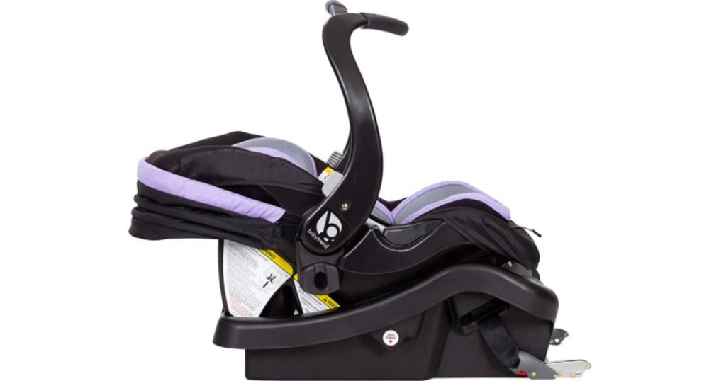 BabyTrend purple car set