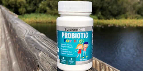 Balance One Kids Probiotics Only $9.98 Shipped on Amazon | Supports Healthy Digestion