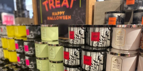 Bath & Body Works 3-Wick Candles from $9.80 Each (Regularly $24.50) | Fall, Halloween, & Winter Scents