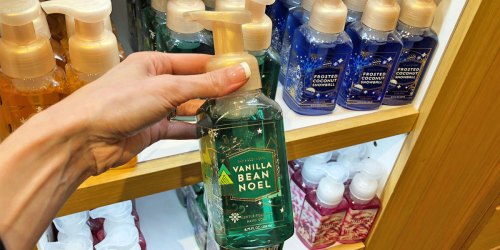 Bath & Body Works Hand Soaps as Low as $1.88 Each (Regularly $7.50)