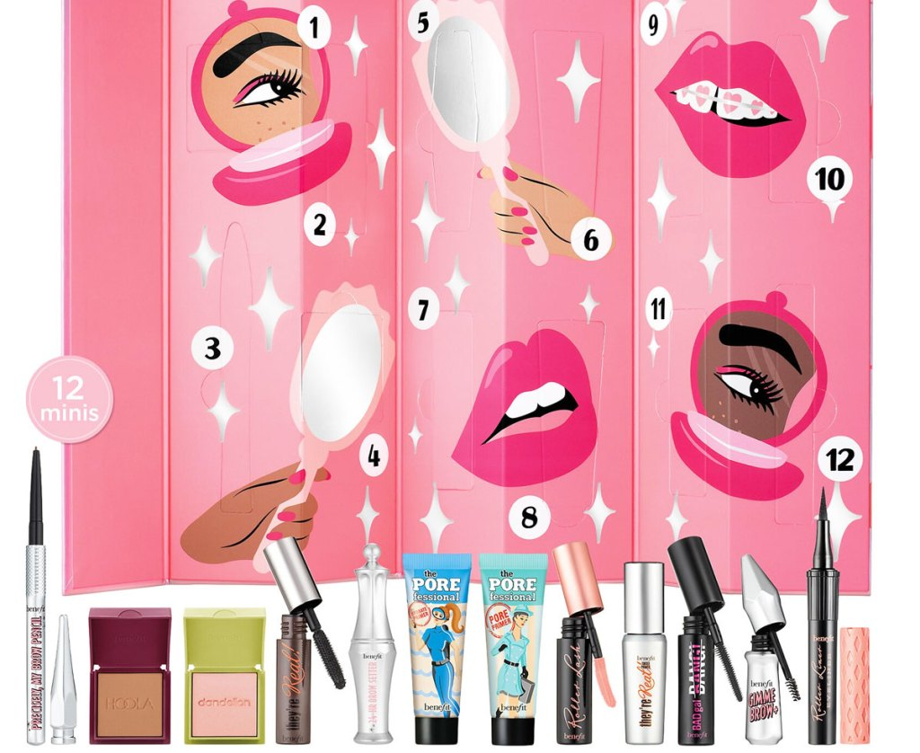 Benefit Cosmetics Advent Calendar Only