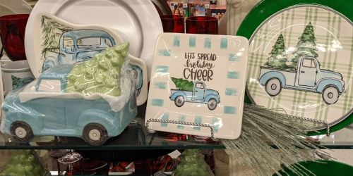 50% Off Blue Truck Holiday Decorations at Hobby Lobby | In-Store & Online