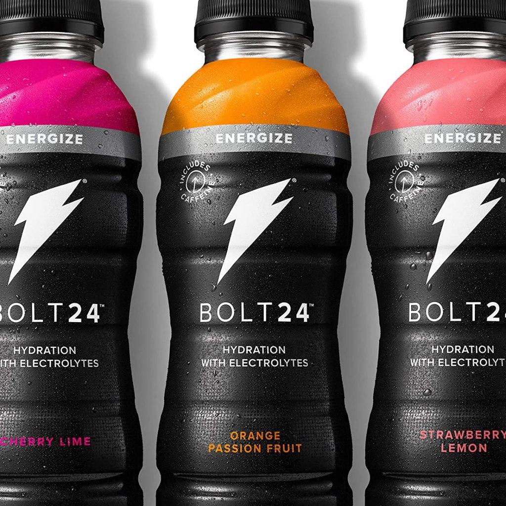 three bottles of Bolt24