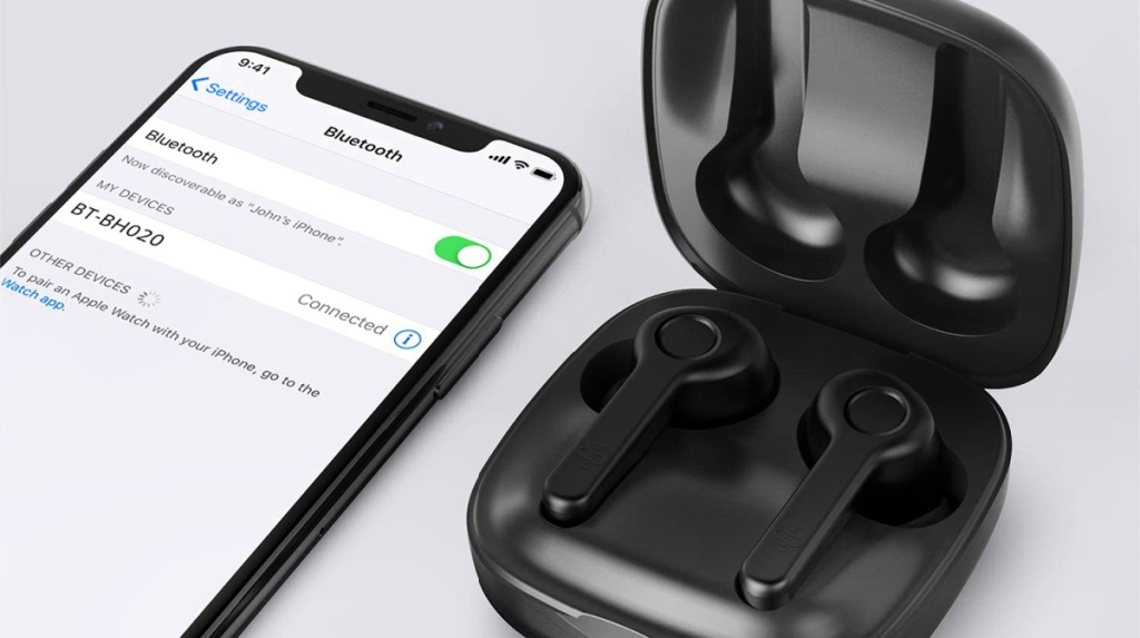 Boltune Wireless Earbuds with Charging Case