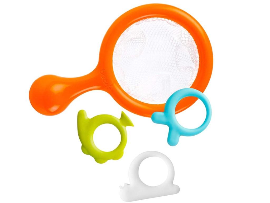 bath toys and net