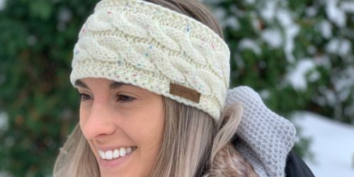 Brook + Bay Women's Ear Warmer Headbands from $5 on Amazon | 9 Color Choices