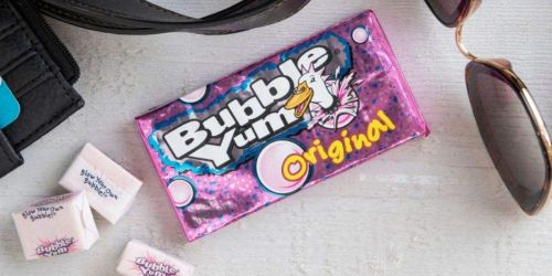 Bubble Yum Bubble Gum 12-Pack Only $8.62 for Amazon Prime Members   Just 72¢ Per Pack