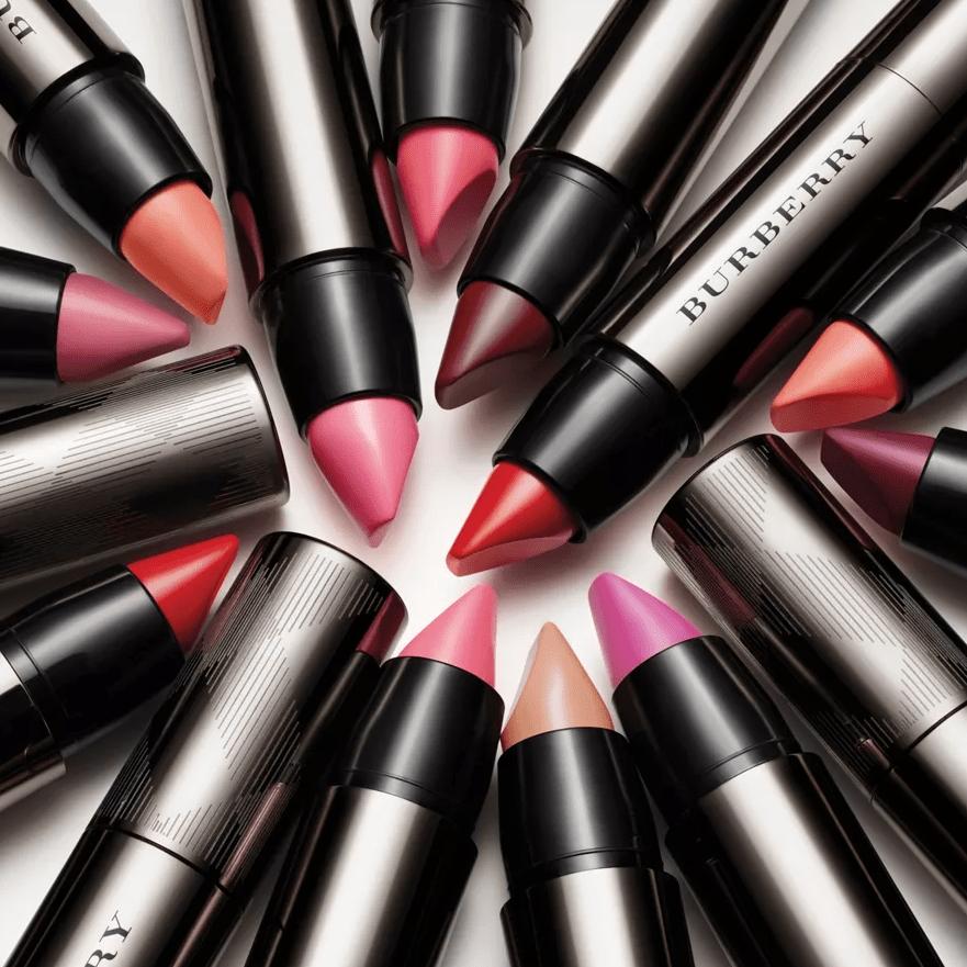 group of lipsticks