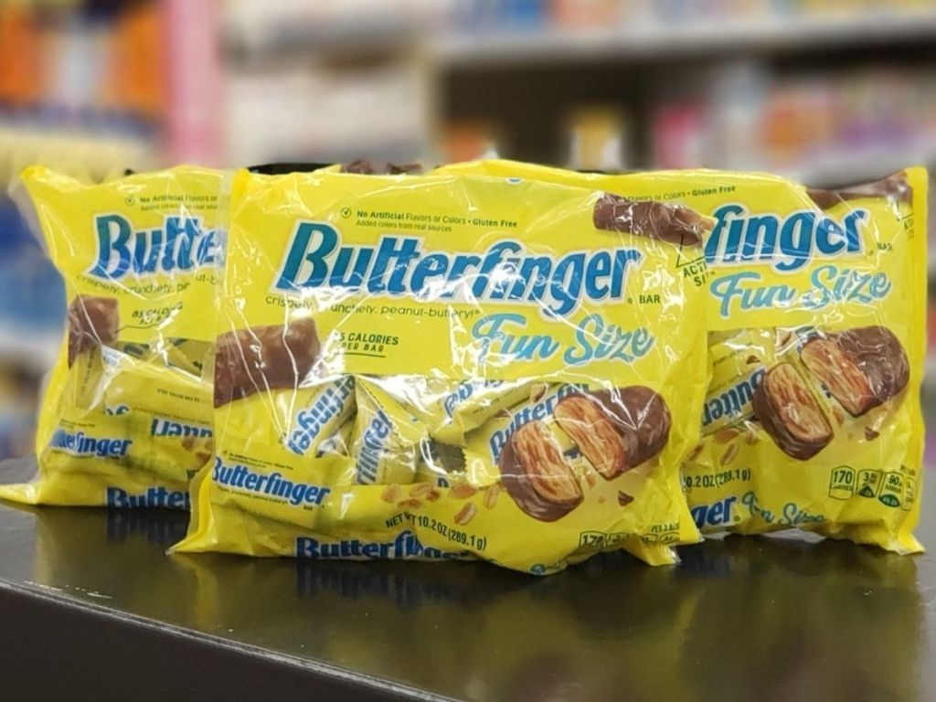 Butterfinger Fun Size Bags of Candies