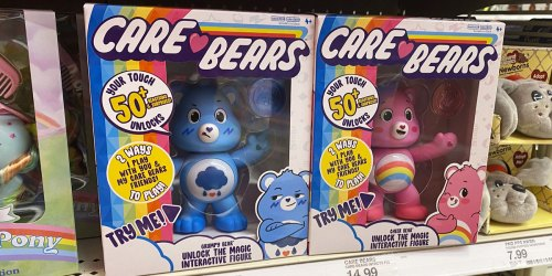 Care Bears Interactive Toys Only $5 on Walmart.com | Sing, Move, Light Up, & More