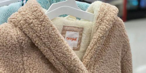 Cat & Jack Girls Sherpa Jacket & JoJo Siwa Gloves Only $30.98 on Target.com