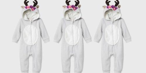 Cat & Jack Kids Reindeer Romper Just $12.99 at Target