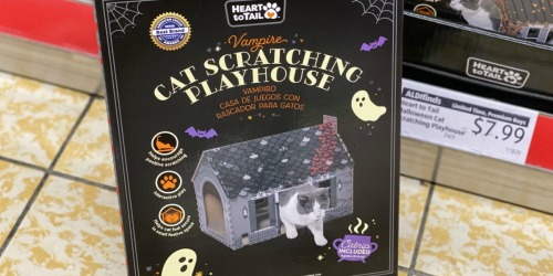 Halloween Cat Scratch Houses Just $7.99 at ALDI
