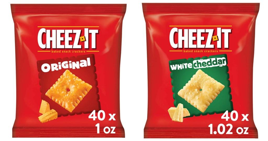 Cheez-It Snack Crackers on Amazon