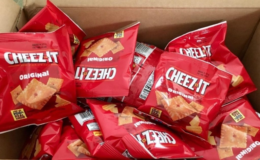 Cheez-Its 1oz Snack Crackers