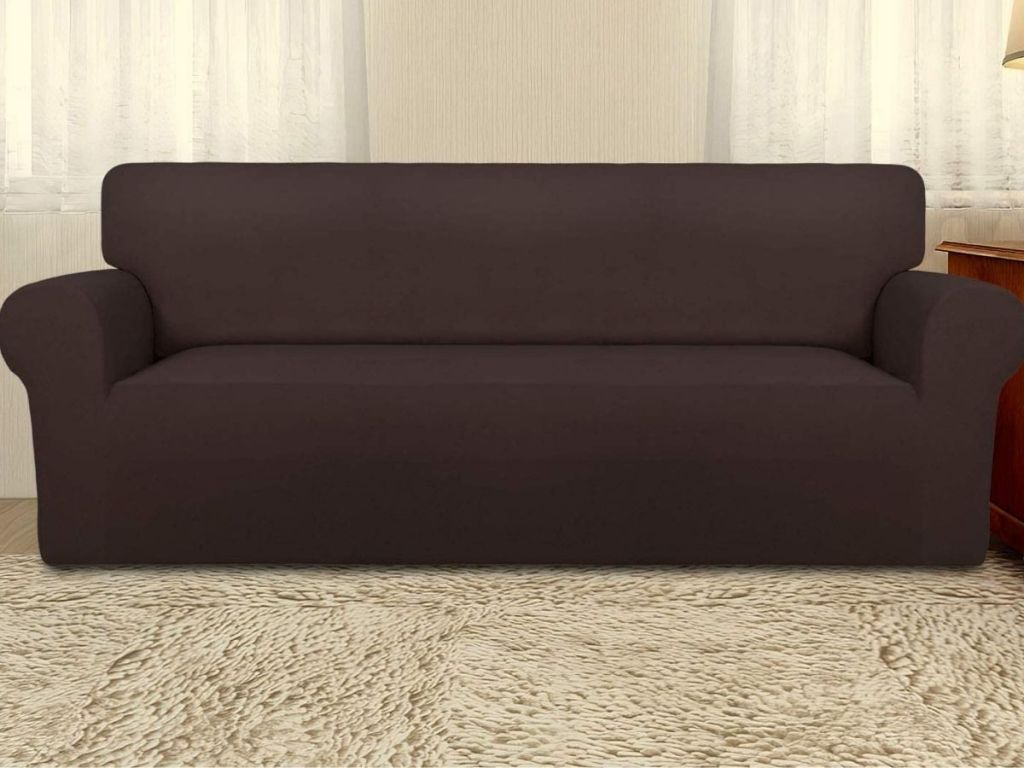 Large Slipcover on couch