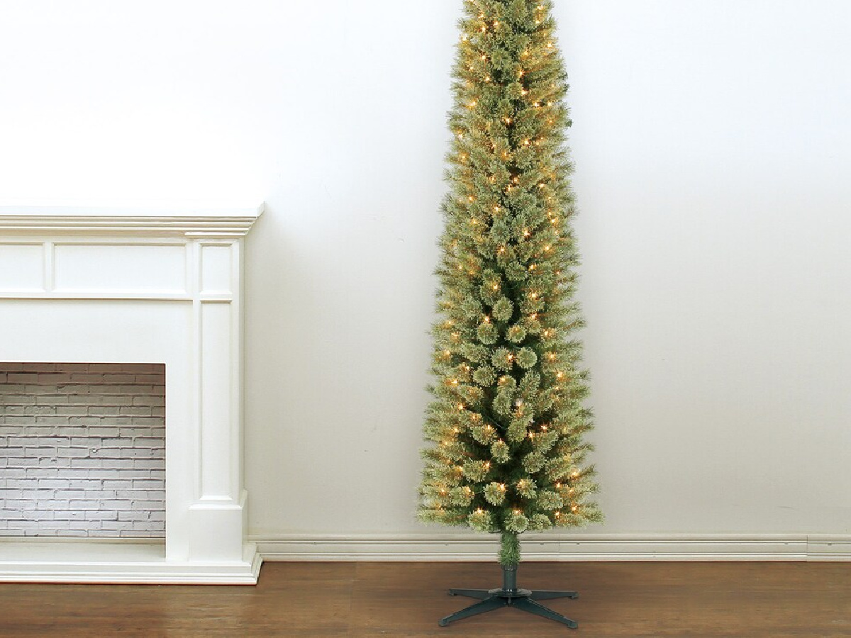 Pencil Christmas Tree Only 59 99 Shipped Regularly 140 More On Michaels Com Hip2save