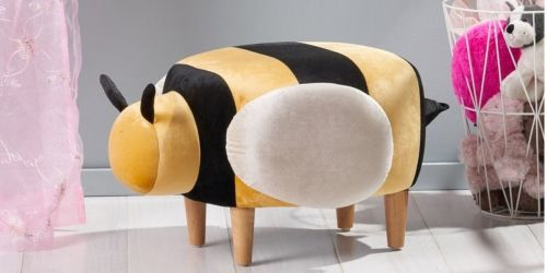 Upholstered Animal Ottomans from $35.91 on HomeDepot.com (Regularly $73)