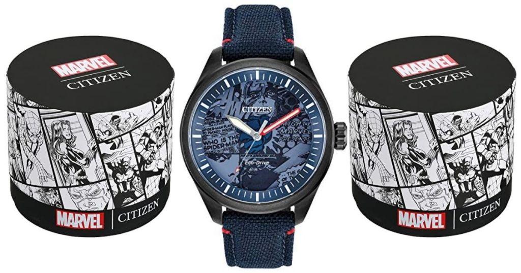 Citizen Marvel watch with watch box
