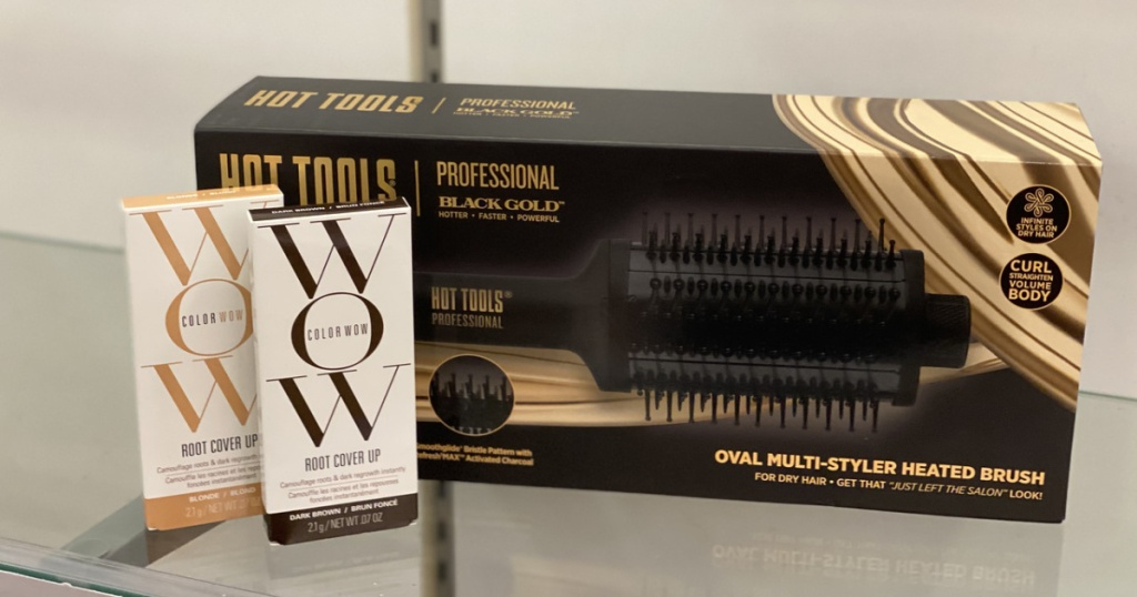 Color Wow Root Touch Up and Hot Tools Styling Brush at ULTA