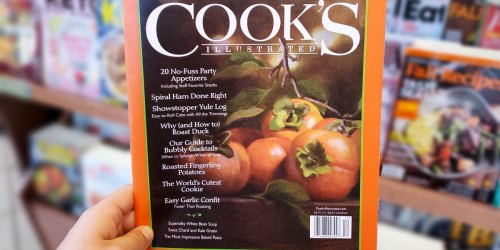 Cook's Illustrated 1-Year Subscription Just $8.95 (Regularly $25)
