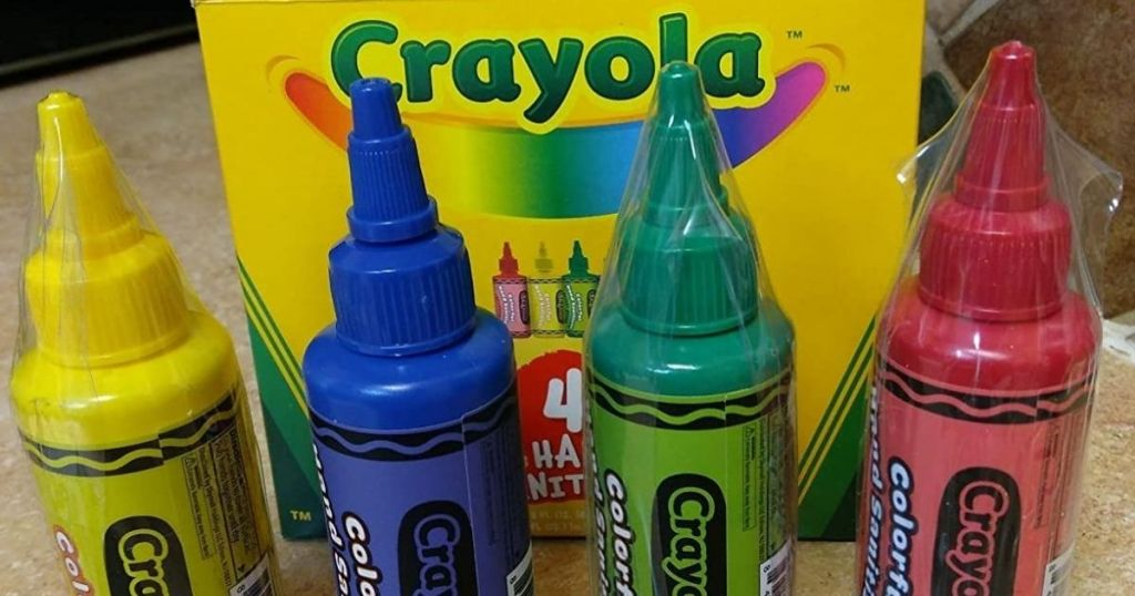 Crayola Colorful Hand Sanitizers