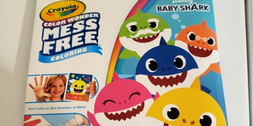 Crayola Color Wonder Sets Only $3.97 on Amazon (Regularly $8) | Baby Shark, Frozen & More