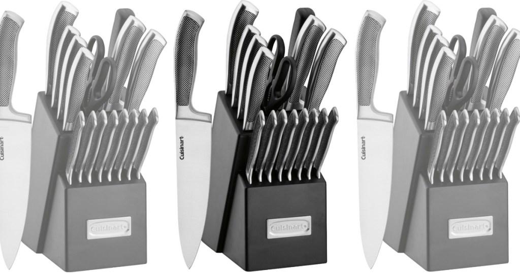 Cuisinart Artiste 17 Piece Knife Block Set