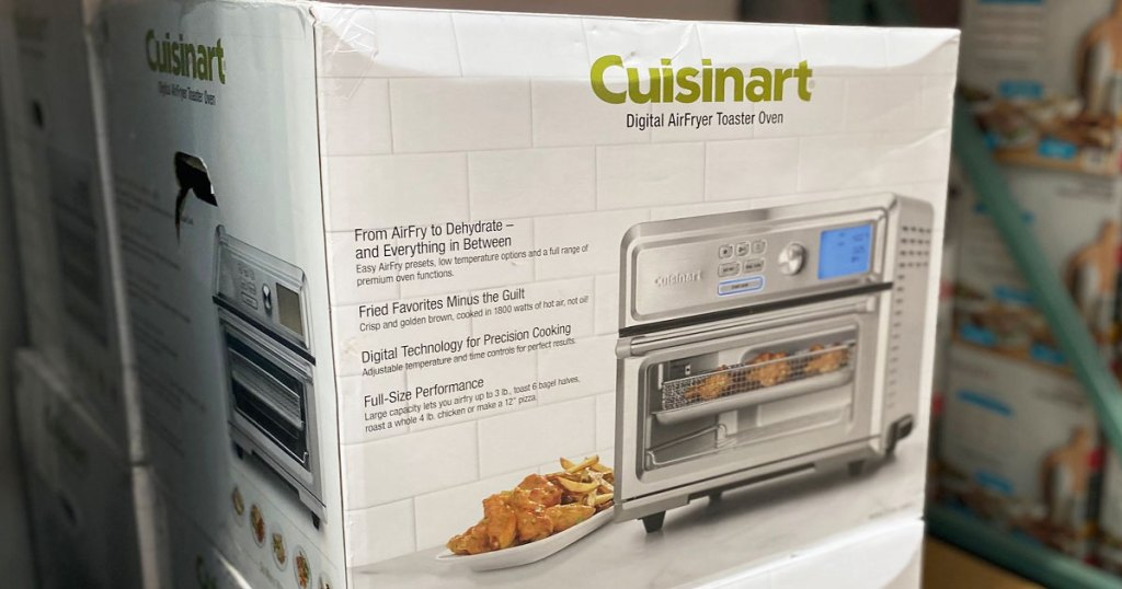 cuisinart air fryer toaster oven box at costco